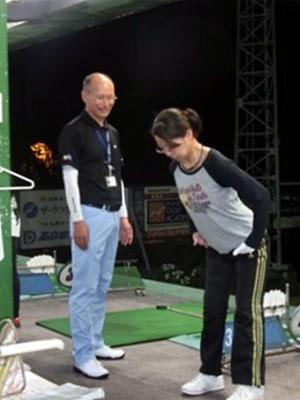 レッスン写真2 : はじめてのゴルフ