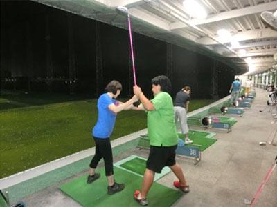 レッスン写真3 : はじめてのゴルフ