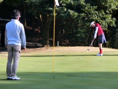 コースデビュー会写真 : はじめてのゴルフ