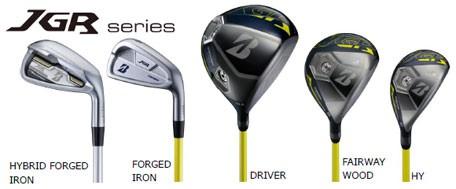 ブリヂストンゴルフ『JGR』シリーズ